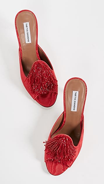 Tabitha Simmons Pammy Beaded Mules
