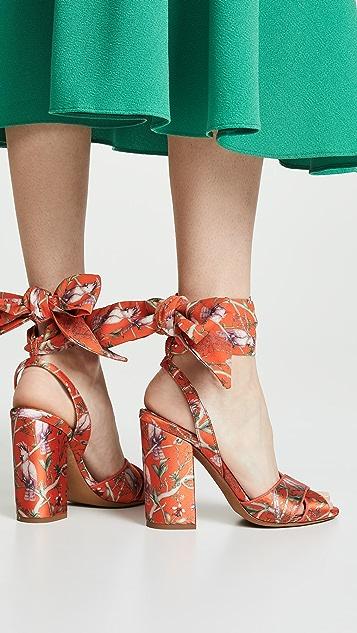 Tabitha Simmons x Johanna Ortiz Connie Wrap Sandals