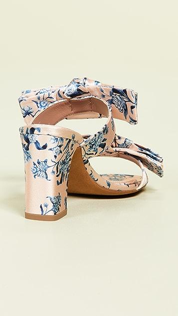 Tabitha Simmons x Johanna Ortiz Barbi 蝴蝶结粗跟鞋