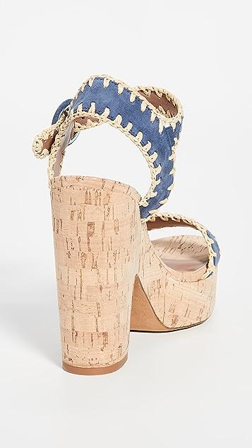 Tabitha Simmons Elena Whip 木底鞋
