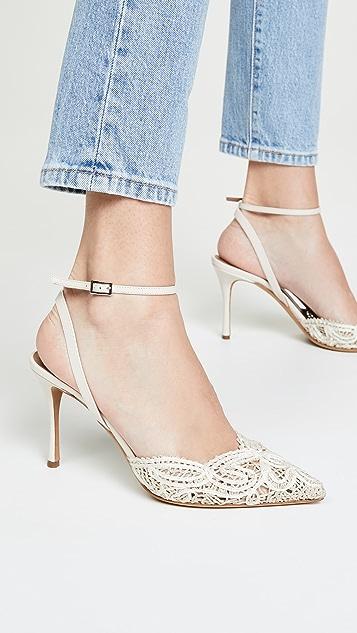 Tabitha Simmons Sen Floret 侧空凉鞋
