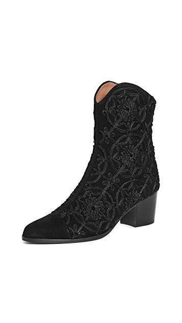 Tabitha Simmons Wyatt 圆牌靴子