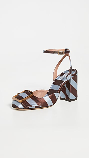 Tabitha Simmons Serena Satin Sandals