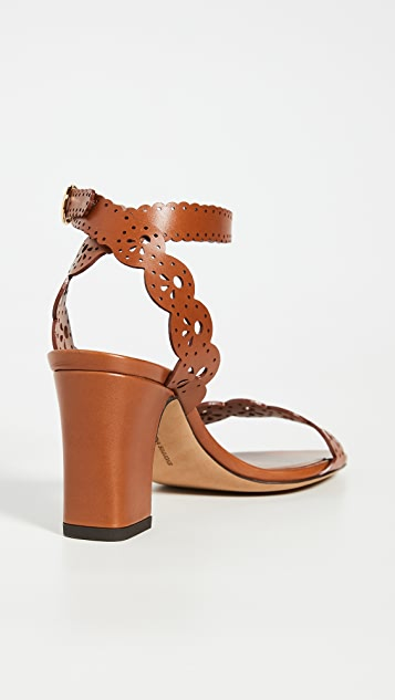 Tabitha Simmons Bobbin Block Sandals