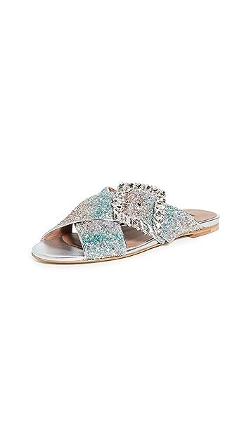 Tabitha Simmons Сандалии с кристаллами Leni