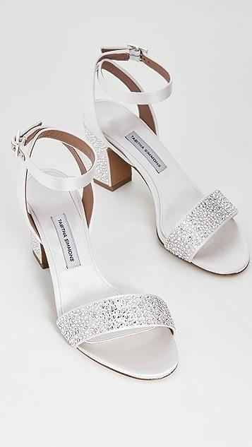 Tabitha Simmons Leticia 施华洛世奇凉鞋
