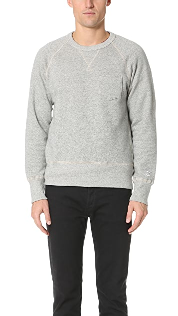 a796d615a03d Todd Snyder + Champion Pocket Sweatshirt | EAST DANE