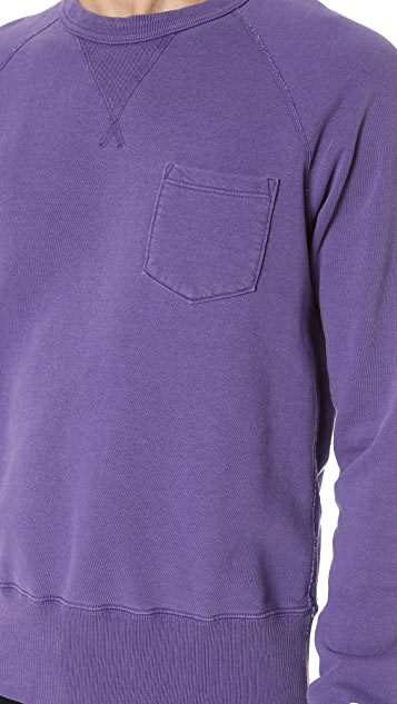 Todd Snyder + Champion Pocket Sweatshirt