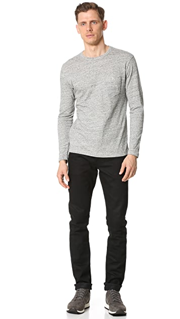 Todd Snyder Double Face Jersey Long Sleeve Tee