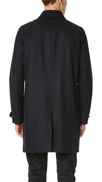Todd Snyder Tech Wool Topcoat