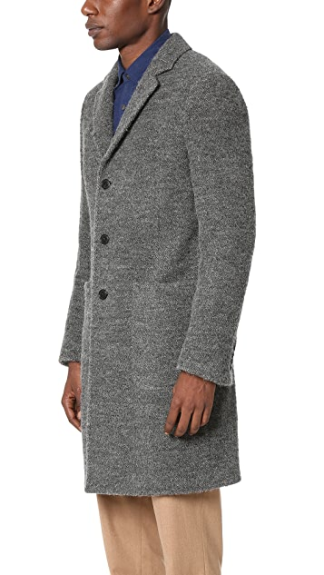 Todd Snyder Boucle Topcoat