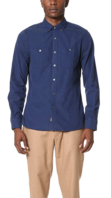 Todd Snyder Double Pocket Shirt