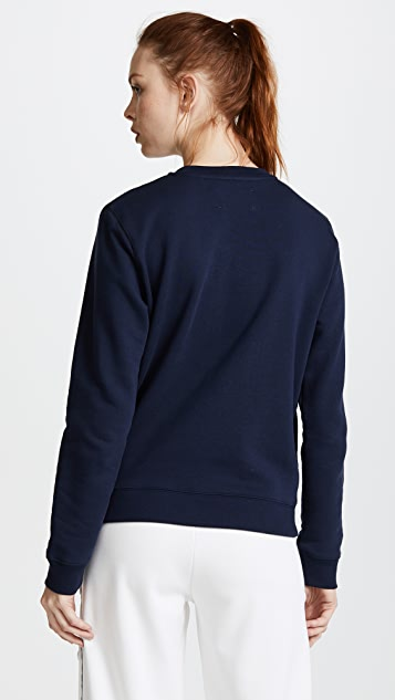 Tory Sport Letterman Crew Sweater