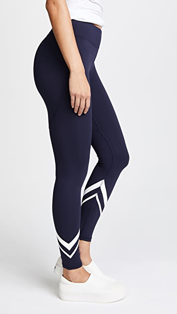 374d98eb95de87 Tory Sport Chevron Full Length Leggings | SHOPBOP