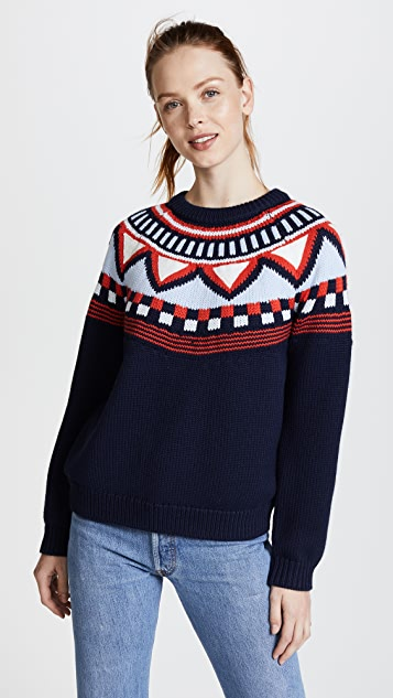 Tory Sport Performance Merino Fairisle Sweater | SHOPBOP
