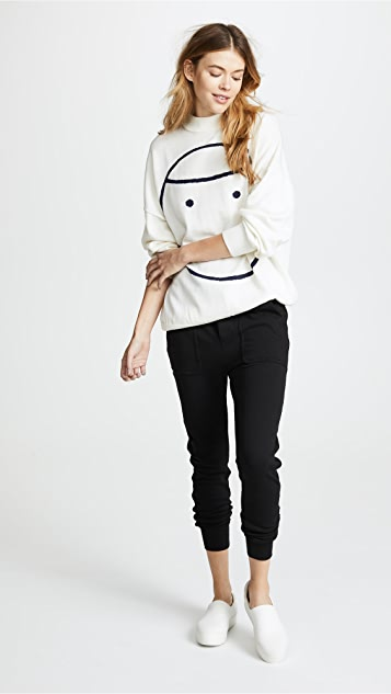 Tory Sport Performance Oversized Sweater