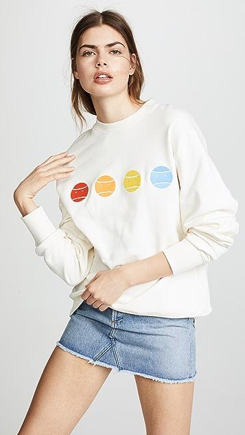 Tory Sport Rainbow Grumps Sweatshirt