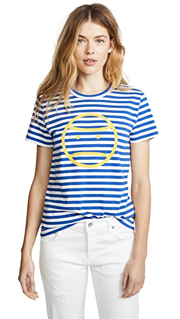 Tory Sport Striped Little Grumps Tee