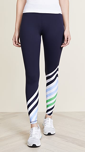 aa4496df4ab638 Tory Sport Diagonal Stripe Leggings | SHOPBOP