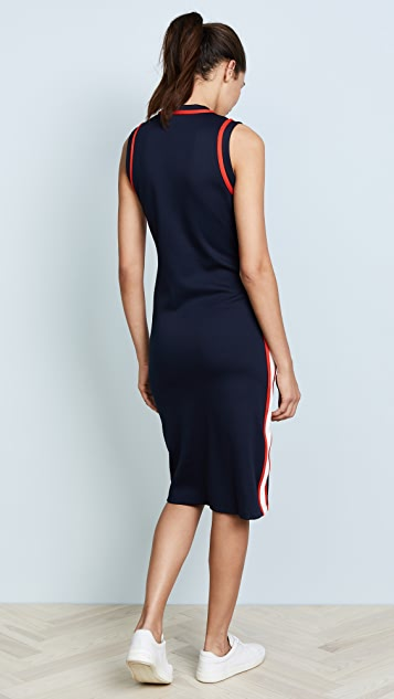 Tory Sport Sleeveless Track Dress