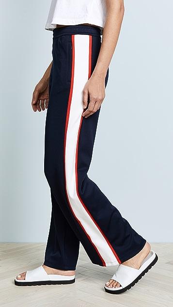 Tory Sport Wide Leg Track Pants