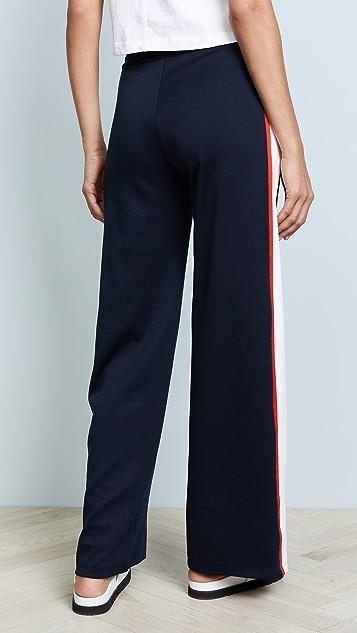 Tory Sport Широкие тренировочные брюки