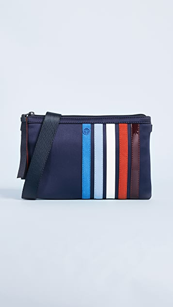 Tory Sport Patchwork Cross Body Bag