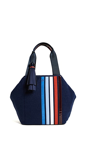 Tory Sport Patchwork Triangle Satchel