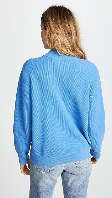 Tory Sport Performance Chevron Sweater