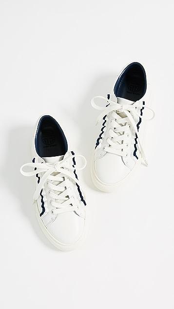 Tory Sport Ruffle Sneakers