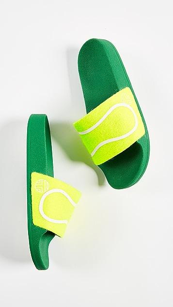 Tory Sport Tennis Ball Slides