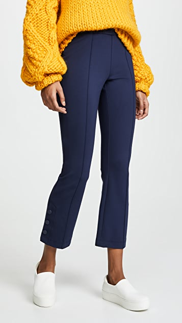 Tory Sport Ponte Bell Flare Pants