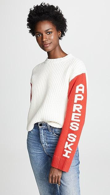 Tory Sport Укороченный свитер Apres Ski