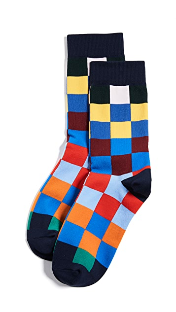 Tory Sport Checker Socks