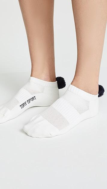 Tory Sport Compression Performance Pom Pom Socks