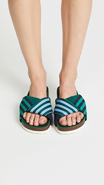 Tory Sport Tech Knit Slides