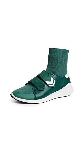 Tory Sport Chevron Strap Sock Sneakers