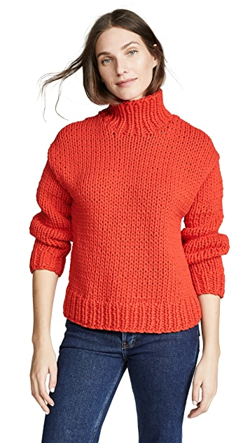 Tory Sport Chunky Oversized Sweater
