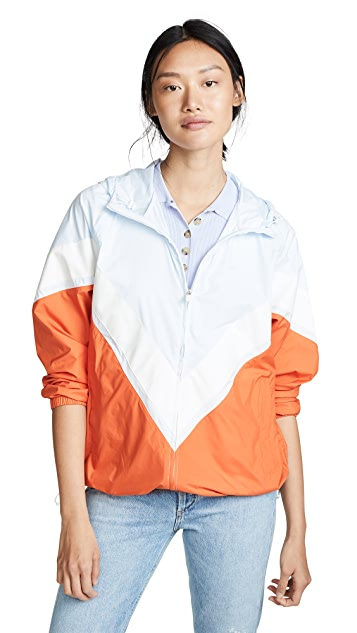 Tory Sport Chevron Running Jacket