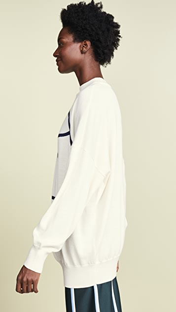 Tory Sport Performance Merino Oversized Sweater