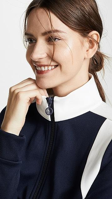 Tory Sport Двухцветная тренировочная куртка