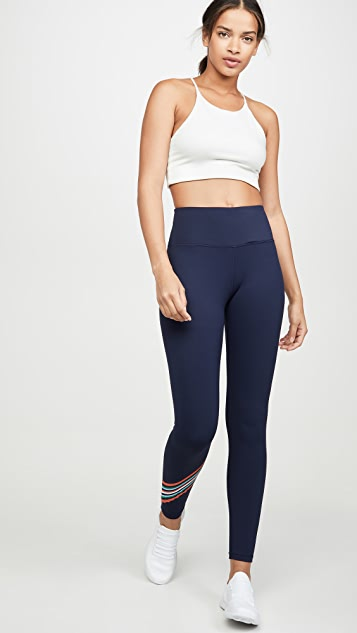 Tory Sport Spectrum Chevron Leggings