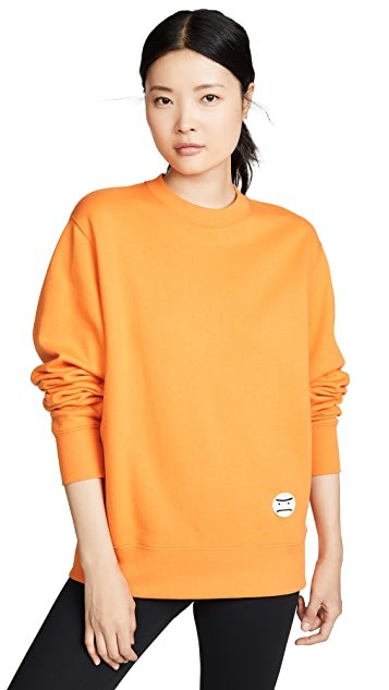 Tory Sport French Terry Oversized Grumps Sweatshirt