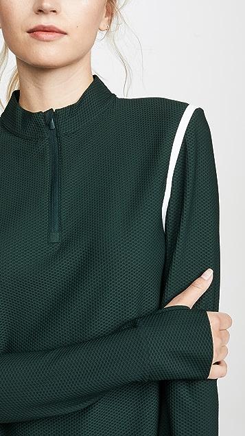 Tory Sport Пуловер со светоотражающими полосками