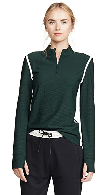 Tory Sport 反光条纹套头衫