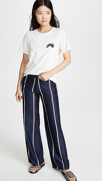 Tory Sport Twin Stripe Track Pants