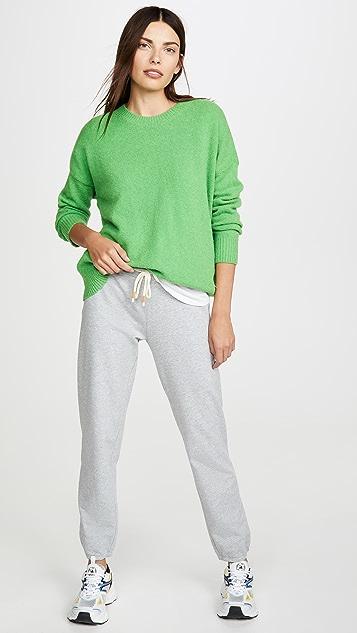 Tory Sport 法式毛圈布杂色运动裤