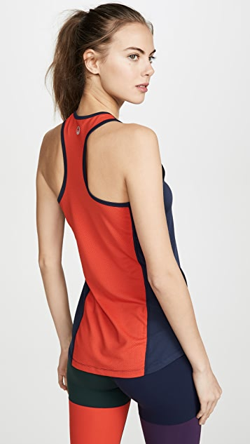 Tory Sport Tops Performance Mesh Back Tank