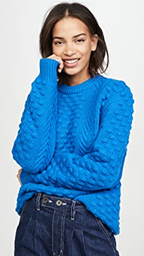 Chunky Merino Cable Knit Sweater