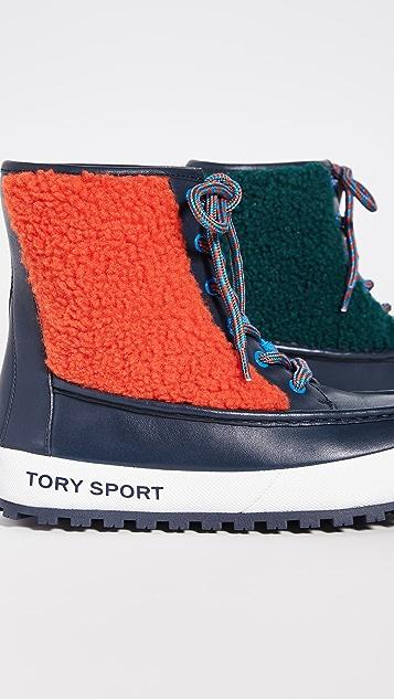 Tory Sport Сапоги в стиле мокасин